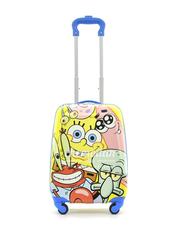 """Детский чемодан """"Губка Боб и его друзья"""""""