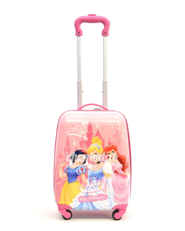 e8c90a6078c5 Детский чемодан три принцессы Disney